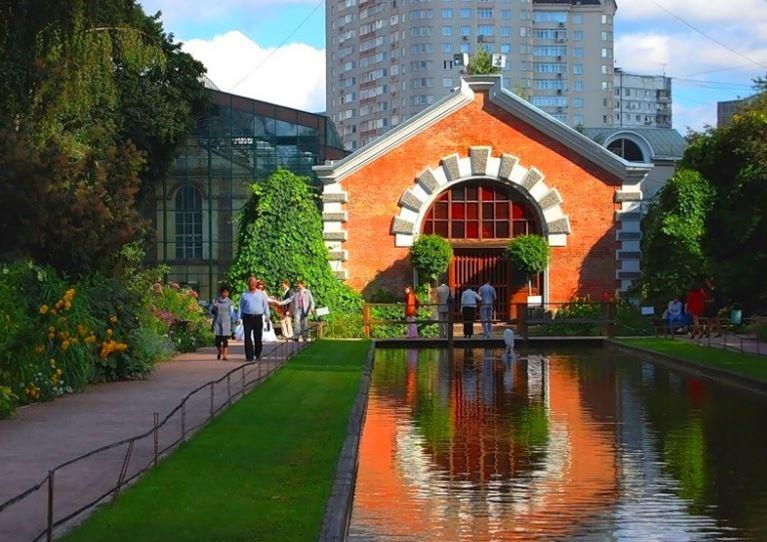 Ботанический сад МГУ Аптекарский огород на проспекте Мира, 26 в Москве