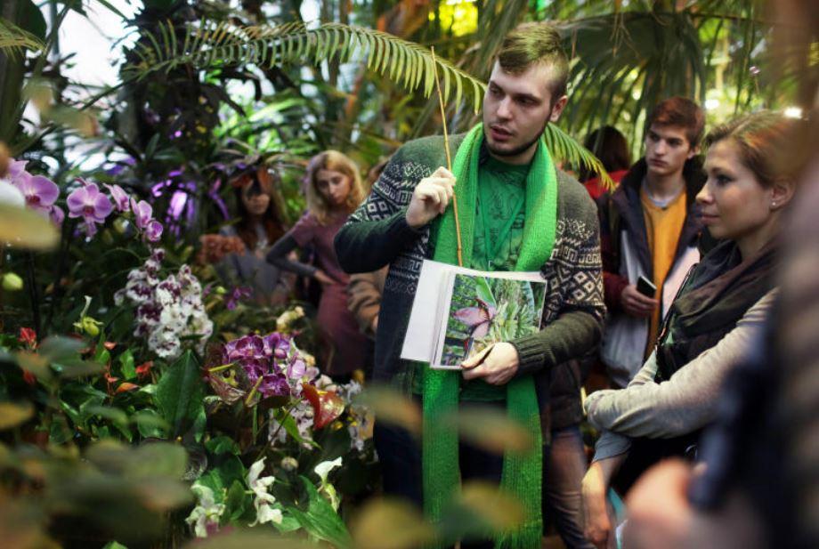 Экскурсия в Ботаническом саду МГУ Аптекарский огород